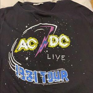 AC/DC Band Tee